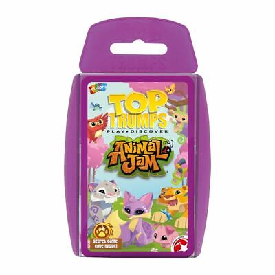 Top Trumps Educational Fun Card Game - ANIMAL JAM