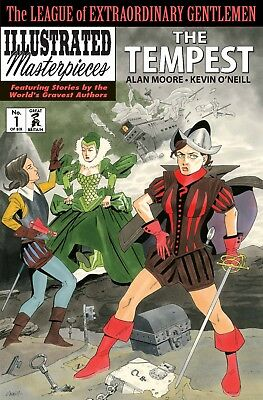 League of Extraordinary Gentlemen THE TEMPEST #1 by Alan Moore & Kevin O'Neill