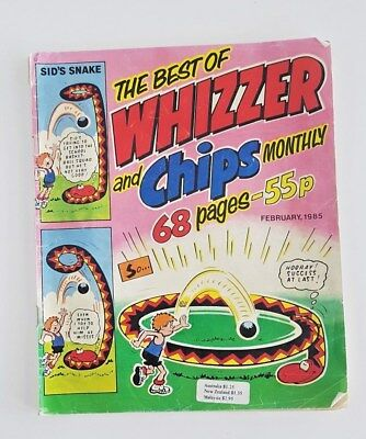 The Best Whizzer and Chips Monthly Comic