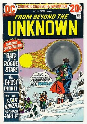 From Beyond the Unknown (1969) #17 FN, 20 VF, 21 VF, 22 VF, 23 VF, 24 FN