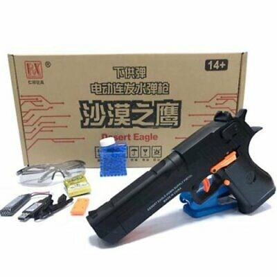 Electric MAG-FED DESERT EAGLE Automatic Water Gel Ball Blaster Hand Gun Pistol C
