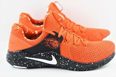 831a5dc901a09 Nike Free TR8 Trainer Mens Size 10 Oregon State Training Shoes AR0410 800  Beaver
