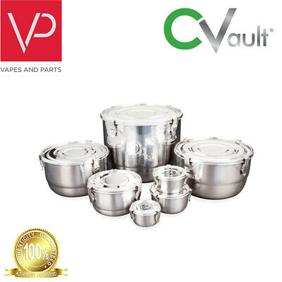 CVault Humidity Control Airtight Stash Container by FreshStor | Sizes Available