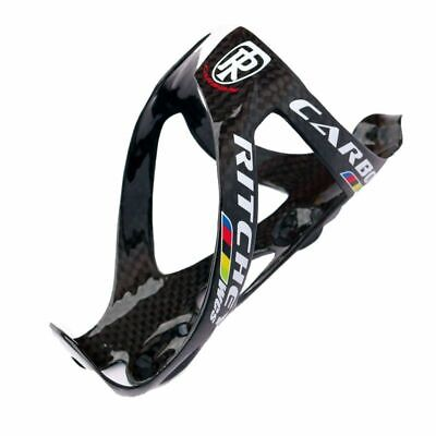 991 GTR 3K Carbon Water Bottle Cage Glossy Black Red 74mm 2pc