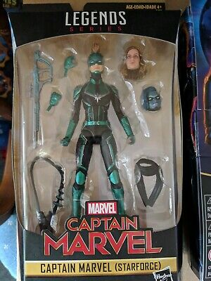 MARVEL LEGENDS Series Captain Marvel and Starforce action figures NIB