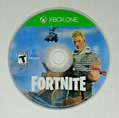 Genuine - Fortnite Game Disc ONLY from Deep Freeze Bundle for Xbox One - VG