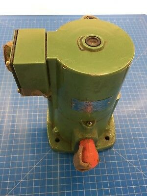 Coolant Pump, Shibaura  OPF-250H, 3 PH Induction Motor, 2P, 250W, Used, works!