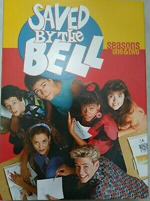 Saved by the Bell: Seasons 1 & 2 (DVD, 5-Disc Set) FREE SHIPPING IN CANADA