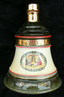 Bell's Christmas 1988 whisky decanter - Excellent condition - Very rare - empty.