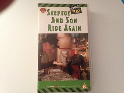 VHS Cassette:  STEPTOE  AND  SON  RIDE  AGAIN!
