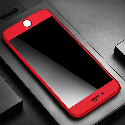 For iPhone 7 Plus Original PU Soft Silicone Leather Slim Case Cover RED