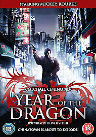 Year Of The Dragon (DVD) (NEW AND SEALED) (REGION 2)