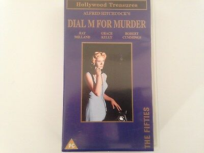 Vhs Cassette: Dial  M  For  Murder!  -  Ray  Milland  &  Grace  Kelly!