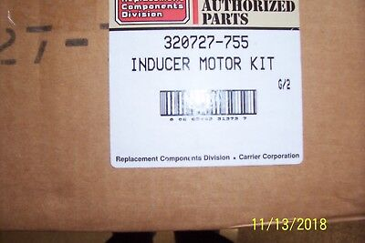 OEM CARRIER/BRYANT 320727-755 Inducer Motor kit HC23Ce116 variable speed