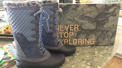 7c784acdcddf NEW  150 NORTHFACE 32YG Womens Shellista III Tall Boots Grisaille ...