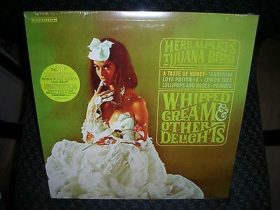 Herb Alpert & The Tijuana Brass *Whipped Cream & Other Delights *New Record LP