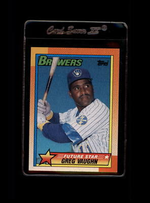 1990 Topps #57 Greg Vaughn NM-MT Brewers