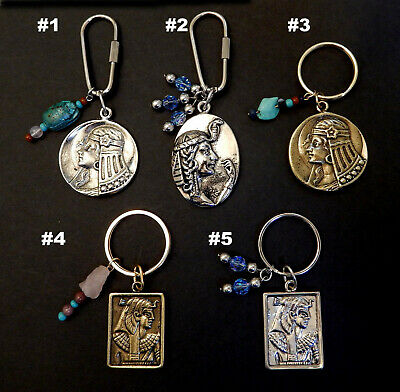 Egyptian Ancient Reproduction Key Chains - Cleopatra / 5 Styles