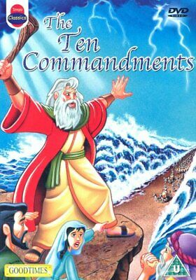 The Ten Commandments (Animated) DVD (2004)