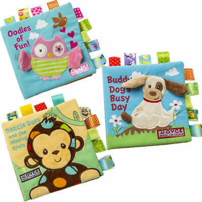 New Tearproof Soft Cloth Book Baby Toy Early Learning Animals Book Baby Toy Book