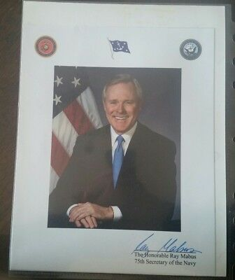 RAY MABUS SECRETARY of the Navy Challenge Coin and Valor