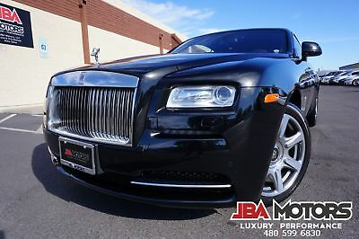 2014 Rolls-Royce Wraith Coupe ~ $318K MSRP ~ CANADEL WOOD ~ SURROUND CAM 2014 Rolls Royce Wraith Coupe Clean CarFax like 2012 2013 2015 2016 2017 Ghost