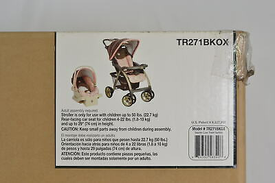 Safety 1st Saunter Luxe LC-22 Travel System Stroller in Cubes