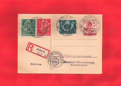 Postcard, Stamps, Germany, WWII