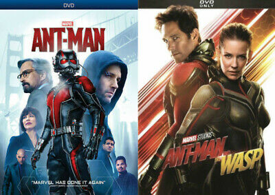 Ant-man 1 and 2 DVD Ant-man and the Wasp Bundle Marvel New & Free Shipping