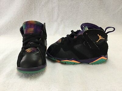 sports shoes 3ce71 0cf5d Nike Air Jordan 7 Retro Lola Bunny Toddler Girls Black purple Shoes~size 7
