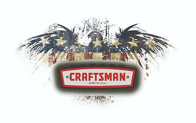 Craftsman Tool Sticker Flying Eagle Decal Mechanic Toolbox Sign Chest Usa