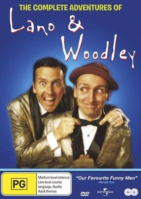 The Complete Adventures Of Lano And Woodley DVD 2 DISC Set