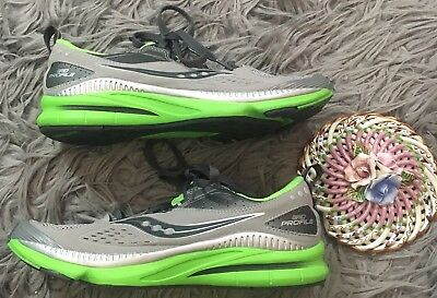 fce483b6c904a SAUCONY GRID PROFILE Women's Running Shoe Size 8 Gray Green