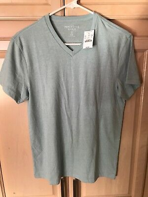 8e5d8a6356f J. CREW MERCANTILE Broken-in Crew-neck T-shirt Mens Slim M Blue ...