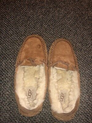 992fd8eaa77 UGG AUSTRALIA UGGS 5612 Dakota Womens 8 Brown Sheepskin Moccasins ...