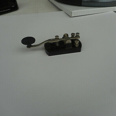 Morse code key - black - made in Japan