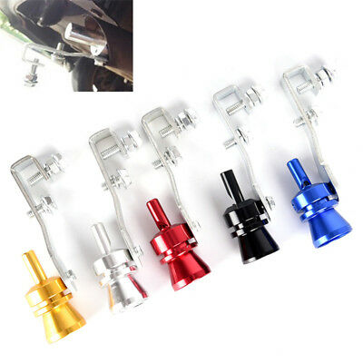 Car Blow Off Valve Turbo Sound Whistle Aluminum Simulator Sound Pipe S Size CN
