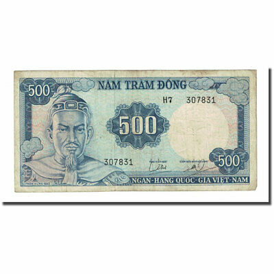 [#169140] Banknote, South Viet Nam, 500 D<ox>ng, Undated (1966), KM:23a