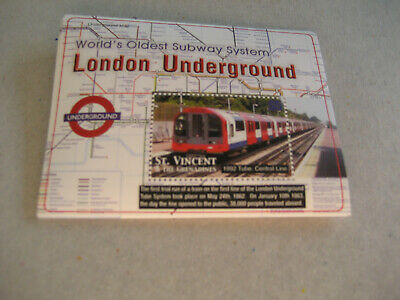 St. St. Vincent & The Grenadines 2004  World's Oldest Subway System-London Under