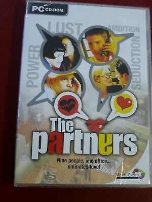 Video Game PC The Partners TV series simulation NEW SEALED
