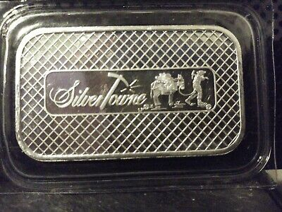 1 troy oz .999 fine silver bar! In mint sealed! No reserve! Free shipping!