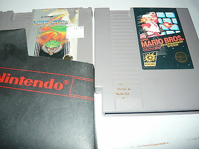 Nintendo NES Game Cartridge Only Life Force and super mario bros lot of 2