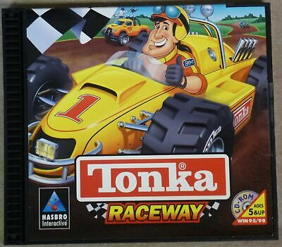 Video Game PC Tonka Raceway Hasbro NEW SEALED Jewel
