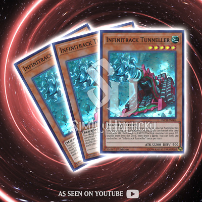 INFINITRACK TUNNELLER x3 | Super Rare | INCH-EN006 The Infinity Chasers YuGiOh