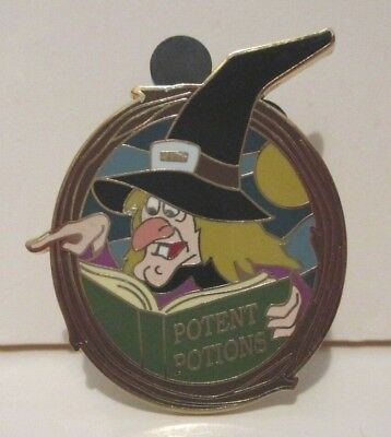 Disney Disneyland Witch Hazel Potent Potions Gift W Purchase Collection Pin 2007