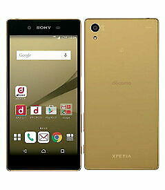 Used Docomo Xperia Z5 SO-01H Gold Sony Unlocked Android SmartPhone JAPAN F/S