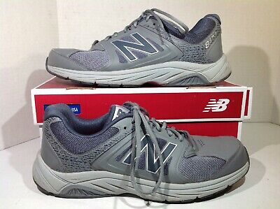 NEW BALANCE 769 Mens Gray Walking Shoe Sneakers MW769GY Size
