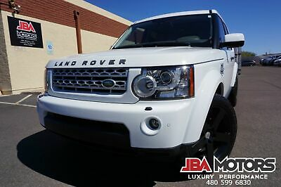 2013 Land Rover LR4 13 Land Rover LR4 HSE 4WD SUV ~ LOW MILES ~ AZ CAR 2013 White Land Rover Range Rover LR4 HSE 4x4 like 2010 2011 2012 2014 2015 2016