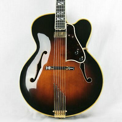 1979 Gibson Super V BJB Archtop Electric Guitar! L-5 400 Johnny Smith Floating P