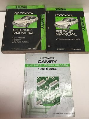 Remarkable 1992 Toyota Camry Electrical Wiring Diagram Guide Handbook Wiring Wiring 101 Eattedownsetwise Assnl